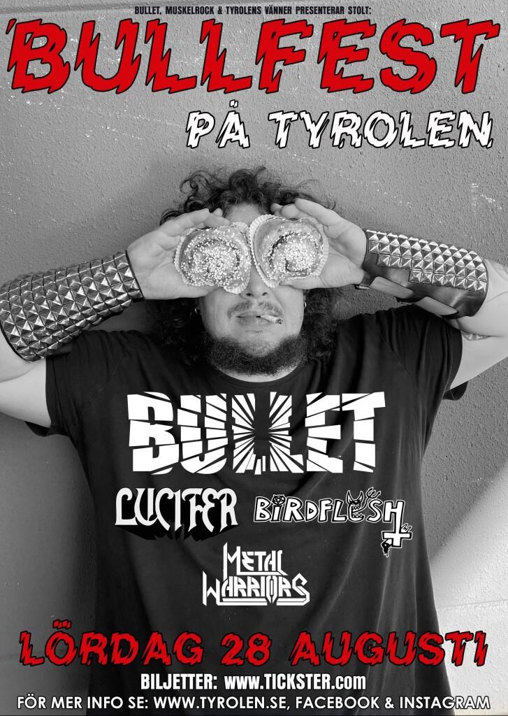 Bullfest poster